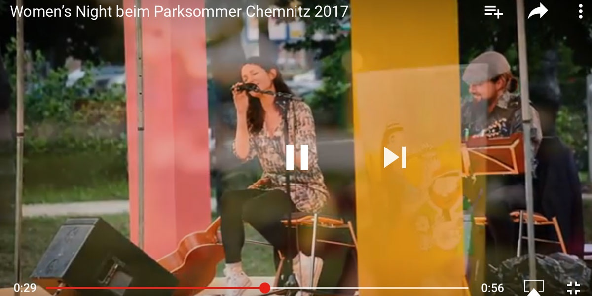 Women's Night beim Parksommer Chemnitz